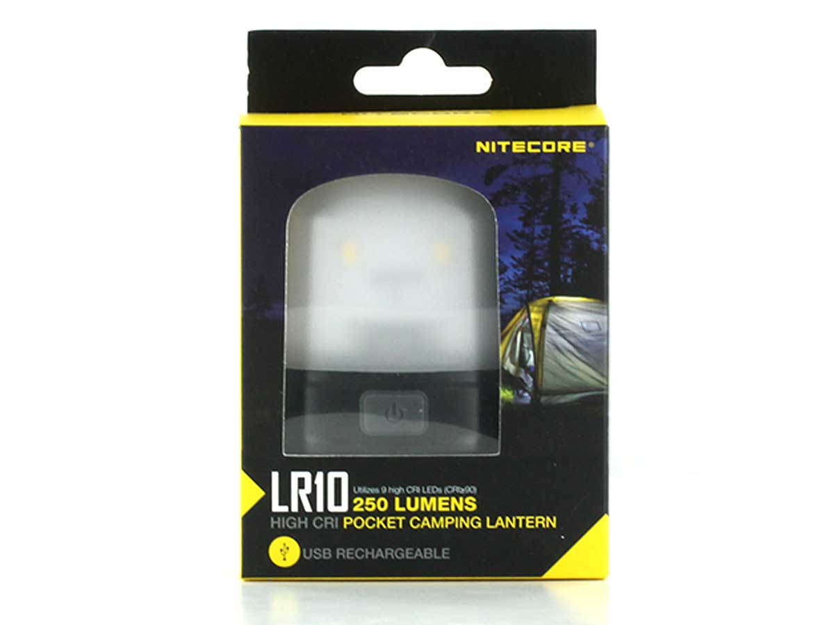 Hands-free mounting options for the  the Nitecore LR10
