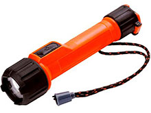 Energizer Intrinsically Safe LED Flashlight - 65 Lumens - Uses 2 x AAs - Class I Div 1 (MS2AALED)