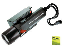 Pelican StealthLite 2460 Rechargeable LED Flashlight - 112 Lumens - Includes 4 x NiMH AAs - Black or Yellow