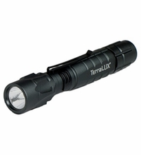 TerraLUX / Lightstar Corp. LightStar 220 EXTREME 3W LED Aircraft Grade Aluminum Flashlight 2XAA up to  260 Lumens!