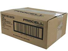 Duracell Procell PC1400 (72PK) C-cell 1.5V Alkaline Button Top Batteries - Contractor Pack of 72