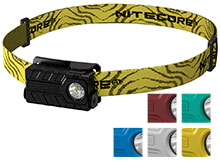 Nitecore NU20 USB Rechargeable Headlamp - CREE XP-G2 S3 LED - 360 Lumens - Includes Li-ion Battery Pack - Many Colors Available
