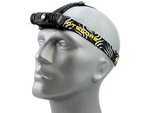 Nitecore HC60 USB Rechargeable Headlamp - CREE XM-L2 U2 LED - 1000 Lumens - Uses 1 x 18650 (Included) or 2 x CR123As