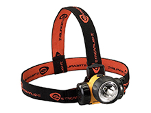 Streamlight 3AA HAZ-LO Headlamp with Optional Rubber Hard Hat Strap - C4 LED - 120 Lumens - Class I Div 1 - Includes 3 x AAs - Yellow (61200)
