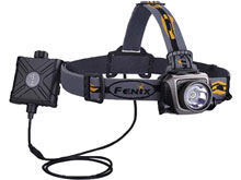 Fenix HP15UE Ultimate Edition High Performance Headlamp -  CREE XM-L2 U2 LED - 900 Lumens - Includes 4 x AA - Grey