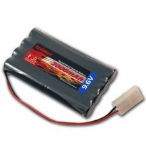 Tenergy 2000mAh 9.6V High Power Nickel Metal Hydride (NiMH) Battery for RC Cars, Robots and Security Systems (11401-01)