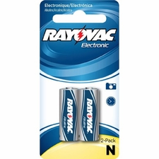 Rayovac Electronic KE 810-2ZM N-size 1.5V Alkaline Button Top Batteries - 2 Piece Retail Card
