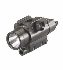 Streamlight TLR VIR 69180 LED Weapon Light with Visible White Light and Infrared Illuminator - Fits Picatinny Railed Long Guns - 850nm Infrared LED - 300 Lumens - Includes 2 x CR123As