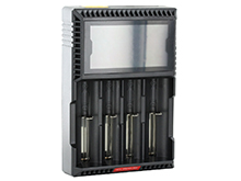 Klarus CH4S Smart Charger - 4 bay - For use with NiMh, NiCd, Li-ion, LiFePO4 Batteries