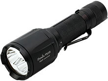 Fenix TK25RB Tri-Color Tactical Flashlight - CREE XP-G2 S3 LED - CREE XP-E2 Red and Blue LEDs - 1000 Lumens - Uses 1 x 18650 or 2 x CR123A