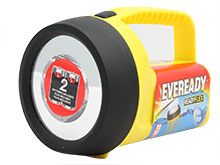 Energizer Eveready EVFL45S Floating LED Flashlight - 80 Lumens - Uses 2 x D (included) or 4 x D Batteries