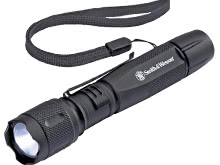 Smith and Wesson Galaxy Elite Tactical Flashlight with CREE XPE-R3 - 365 Lumens -  Includes 2 x AA (110253)