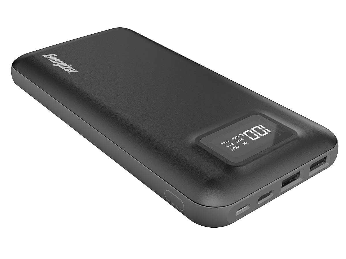 Energizer UE20018 Power Bank downward side angle