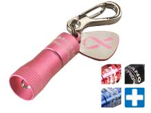 Streamlight Nano Keychain Light - 5mm White LED - 10 Lumens - Includes 4 x LR41s - Comes in Various Colors