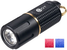 ASP Dot USB Rechargeable LED Keylight - CREE XP-G2 LED - 130 Lumens - Includes 1 x 10180 - Available in Black, Blue, or Red