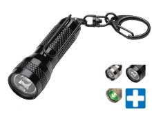 Streamlight Key-Mate Flashlight - White LED - Includes 4 x LR 44 Alkaline Coin Cells - Clam Packaging - Comes in a Variety of Colors