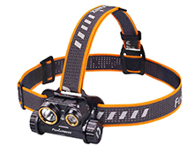 Fenix HM65R Rechargeable LED Headlamp - 1400 Lumens - Uses 1 x 18650 (included) or 2 x CR123A