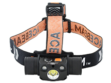Acebeam H30 R & G Rechargeable Headlamp - CREE XHP70.2 LED - 4000 Lumens - Cool White or Neutral White - Uses 1 x 21700 (included)