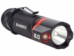 Striker BAMFF 8.0 Dual CREE LED Rechargeable Flashlight - 800 Lumens - Includes 1 x 18650