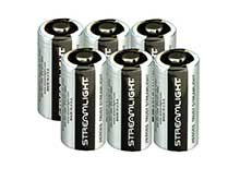 Streamlight 85180 CR123A 1400mAh 3V Lithium (LiMNO2) Button Top Batteries - 6-Pack