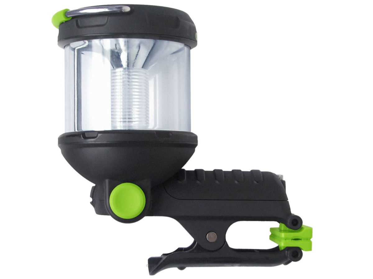 Blackfire 3 in 1 Clamplight side profile