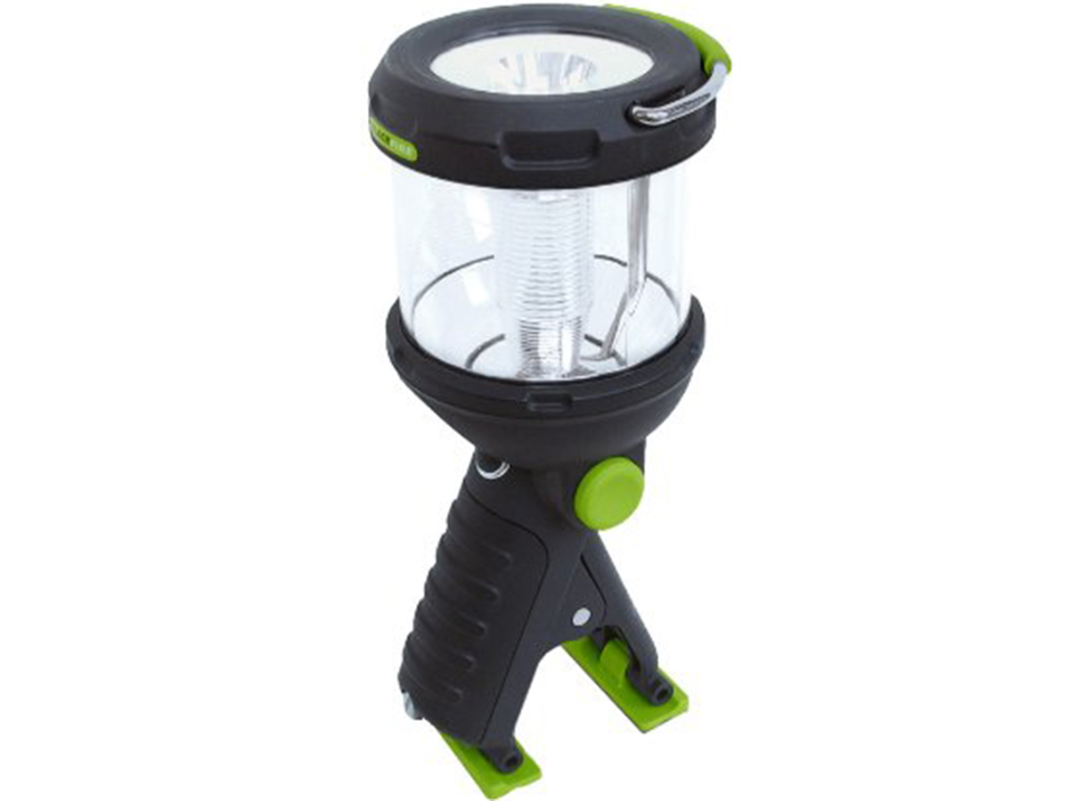 Blackfire 3 in 1 Clamplight upward angle