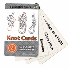 Ultimate Survival Technologies Learn and Live Pocket Guide - Knot Cards - 11 Informative Cards for Tying Knots (20-80-1030)