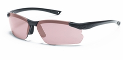 Smith Optics - Factor Tactical Interchangeable Lens Sunglasses - Black Frames wit Gray,Clear, and Ignitor Lenses - Range Kit