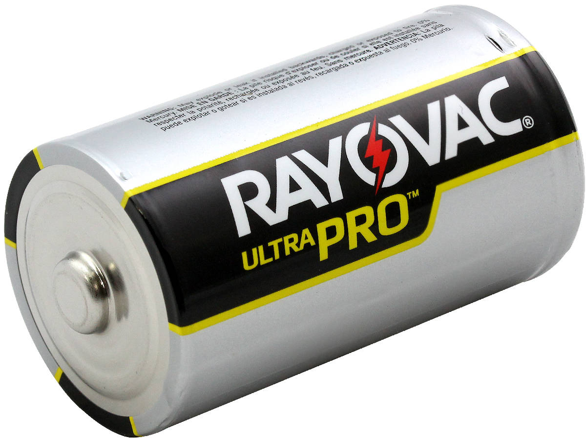 Angle Shot of the Rayovac Ultra Pro AL-D