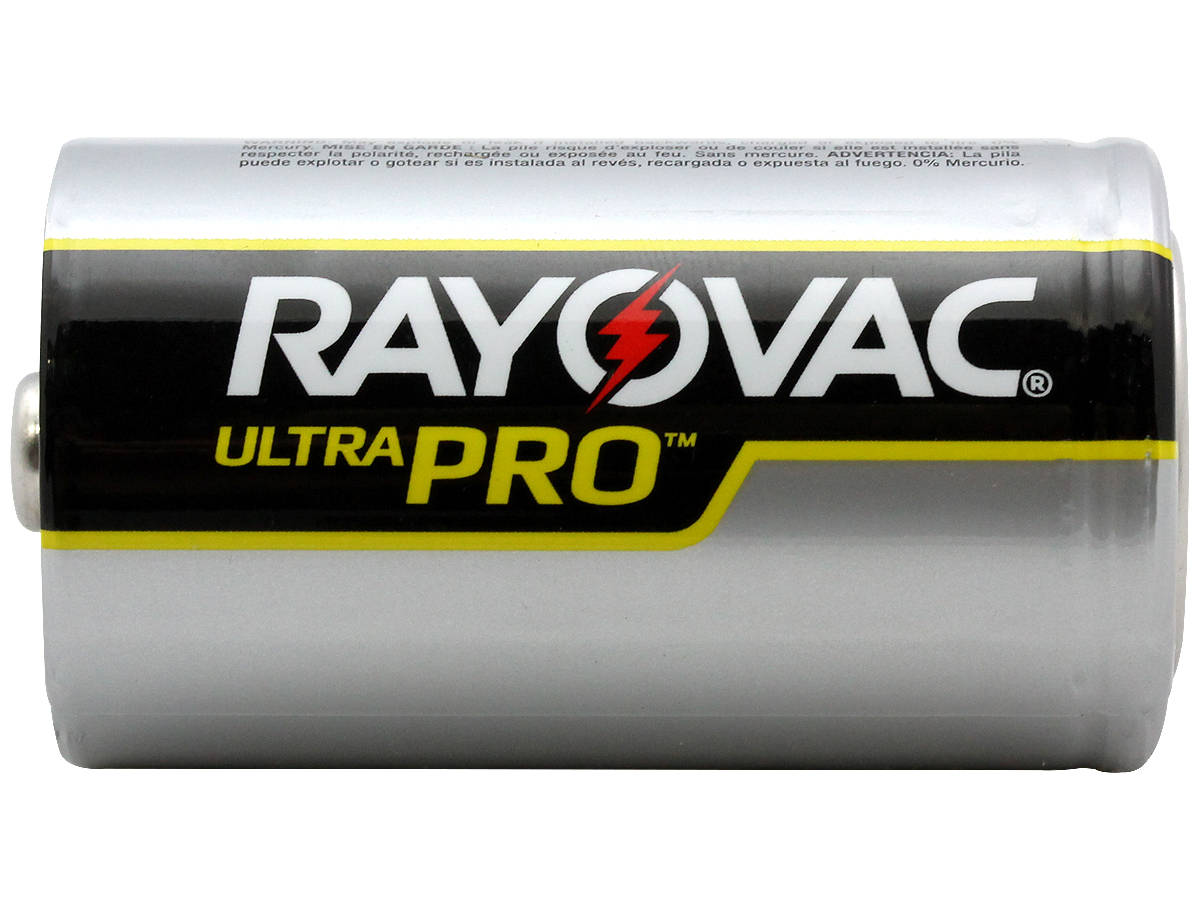 Side Shot of the Rayovac Ultra Pro AL-D