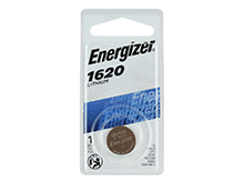 Energizer ECR1620-BP 79mAh 3V Lithium Primary (LiMNO2) Coin Cell Battery - 1 Piece Retail Card