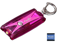 Fenix UC01 USB Rechargeable Mini Keylight - Nichia LED - 45 Lumens - Includes Built-in Li-Polymer Battery - Bright Purple or Matte Blue