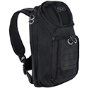 SOG Evac Sling 18L CP1001 One Strap Sling Pack Backpack with Laptop Pocket, MOLLE Front Patch - Black or Grey