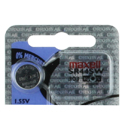 Maxell SR44SW 303 165mAh 1.55V Silver Oxide Button Cell Battery - Hologram Packaging - 1 Piece Tear Strip, Sold Individually
