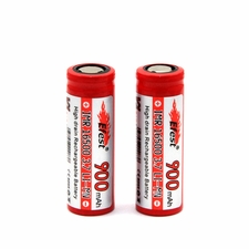 Efest 4063 IMR 16500 900mAh 3.7V Unprotected Lithium Manganese (LiMn2O4) Flat Top Battery - Boxed