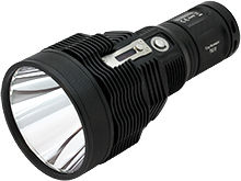 Nitecore TM38-LITE Tiny Monster Lite Rechargeable Flashlight - CREE XHP35 HI D4 - 1800 Lumens - Uses 4 x 18650 - Now Available with Batteries