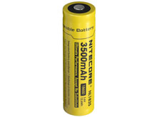 Nitecore NL1835 18650 3500mAh 3.6V Protected Lithium Ion (Li-ion) Button Top Battery - Blister Pack