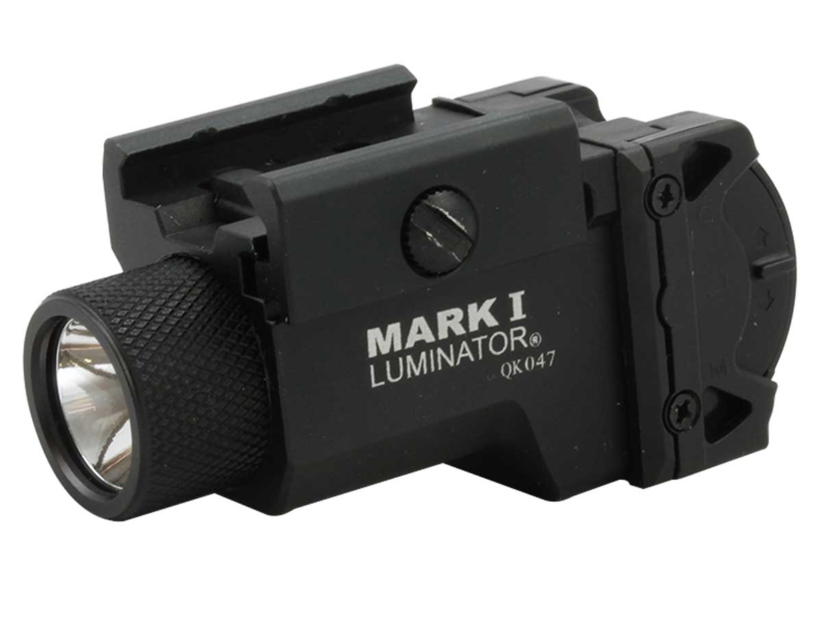 Powertac Mark I Luminator Pistol Light