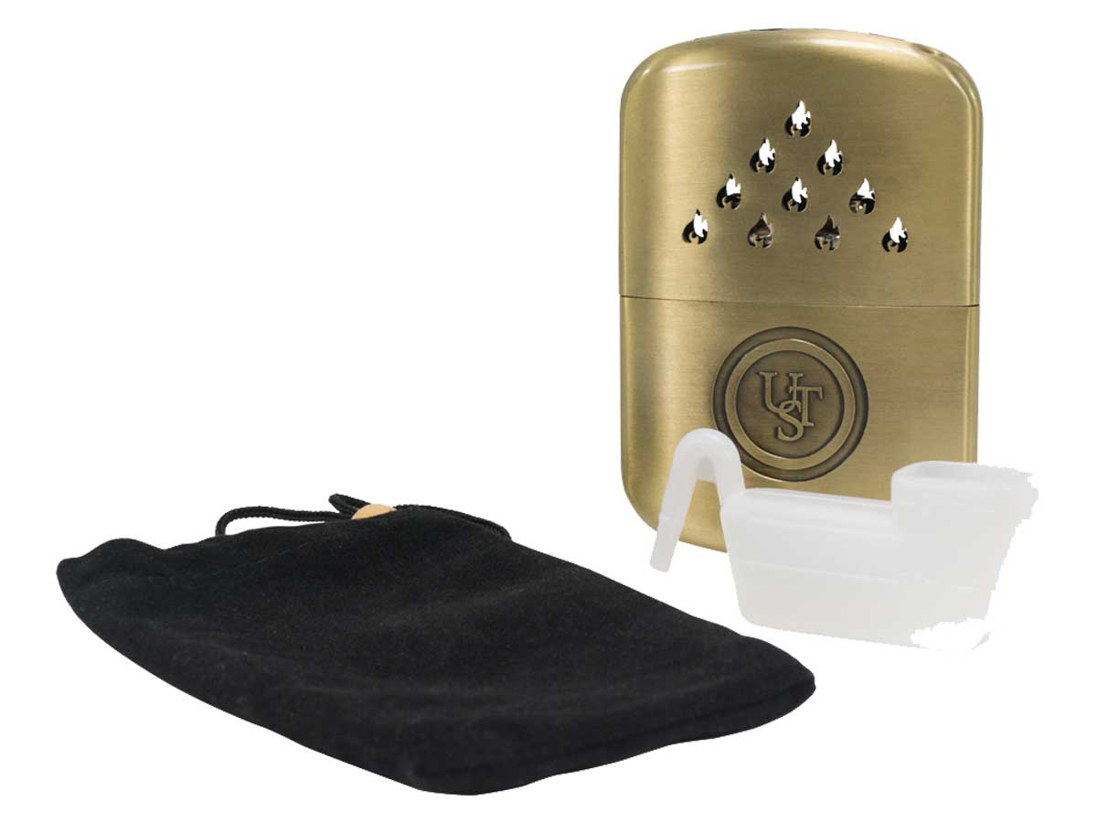 Hand warmer with accessories