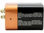 Duracell Coppertop Alkaline Lantern Battery side profile