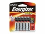 Energizer E92 AAA batteries in 10 piece retail card
