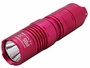 Nitecore P05 flashlight in pink at a side angle