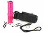 Nitecore P05 flashlight in pink with accessories