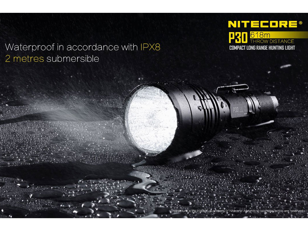 Nitecore P30 slide two
