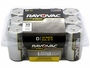 12-Pack Plastic Box of Rayovac Ultra Pro AL-D Batteries