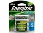 Energizer Recharge AA batteries in 4-pack retail card
