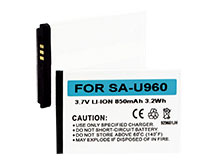 Empire BLI-1032-8 850mAh 3.7V Replacement Lithium-Ion (Li-ion) Cell Phone Battery Pack for Samsung SCH-U960