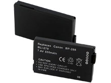 Empire BLI-279 850mAh 7.4V Replacement Lithium Ion (Li-Ion) Digital Camera Battery Pack for the Canon BP-208
