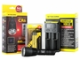 Nitecore Chameleon CR6 flashlight with battery and i2 charger