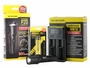 Nitecore P20 flashlight with battery and i2 charger